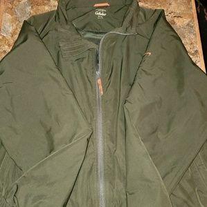Outdoors zip up jacket